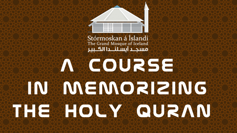 Grand Mosque Of Iceland holds a course in memorizing the Holy Quran